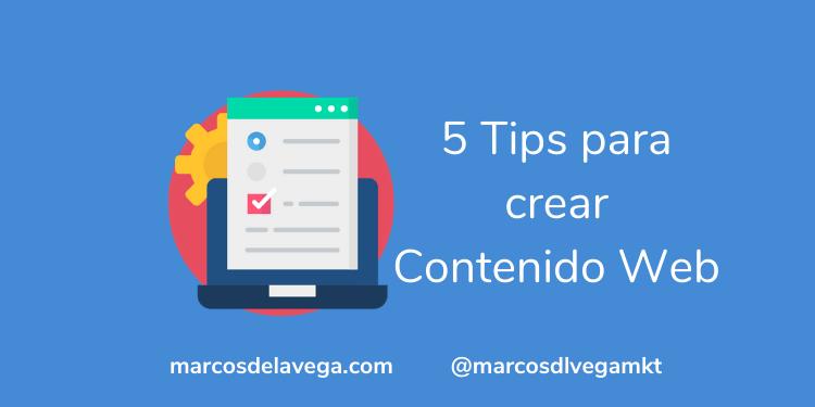 5-Tips-para-crear-Contenido-Web