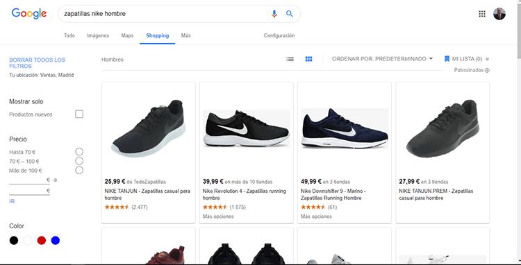 Google-Shopping-ejemplo-de-búsqueda